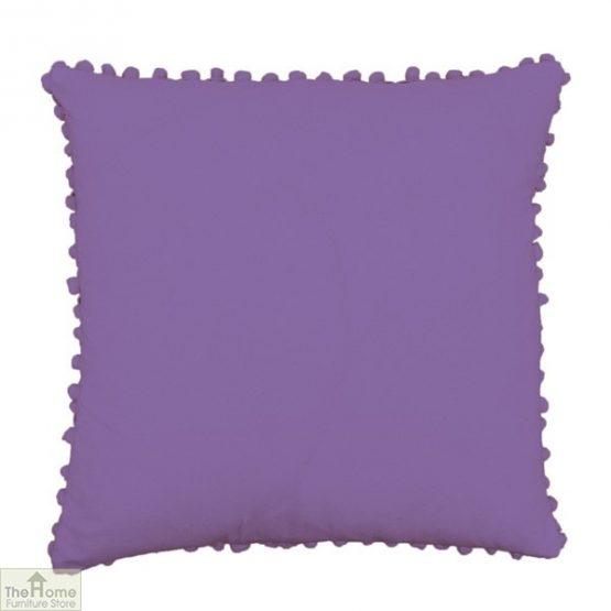 Hyacinth Pom Pom Cotton Cushion