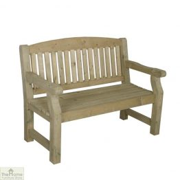 2 Seater Wooden Bench