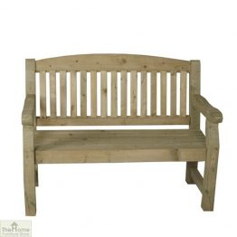 2 Seater Wooden Bench_1