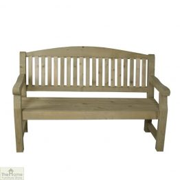 3 Seater Wooden Bench_1