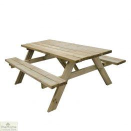 Large Rectangular Picnic Table