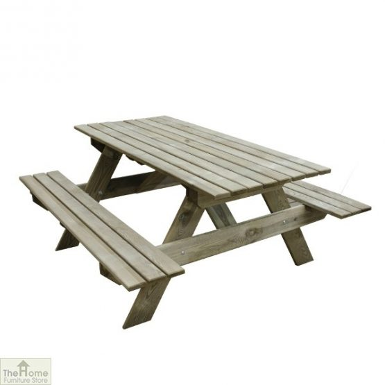 Small Rectangular Picnic Table