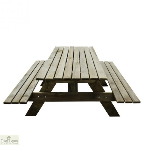 Small Rectangular Picnic Table_1