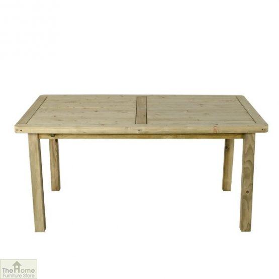 Wooden Rectangular Garden Table