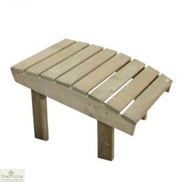 Wooden Garden Footstool