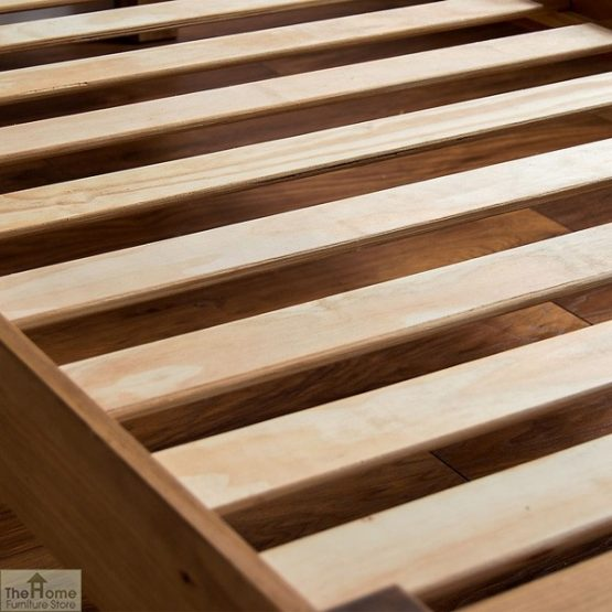 Solid Pine Single Bed Low Foot End_7