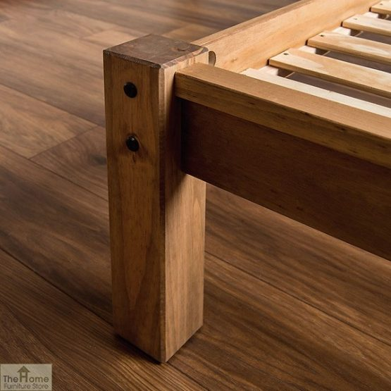 Solid Pine Single Bed Low Foot End_6