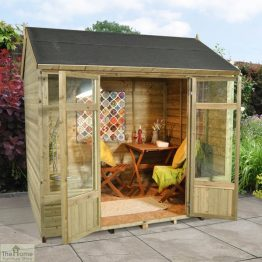 Small Traditional Wooden Summerhouse_1