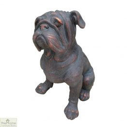 Bulldog Dog Garden Statue