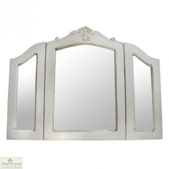 Devon Shabby Chic Dressing Table Mirror
