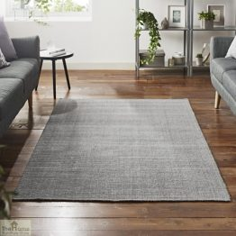 Grey Rectangular Jute Rug_1