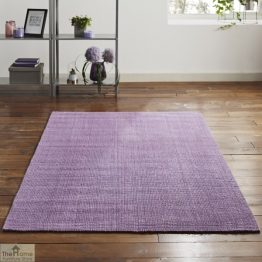 Purple Rectangular Jute Rug _1