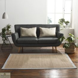 Grey Boarder Rectangular Jute Rug_1