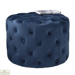 Tufted Pouffe Stool
