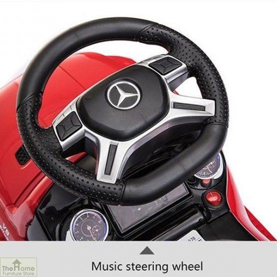 Licensed Mercedes Foot to Floor Ride on Car_7