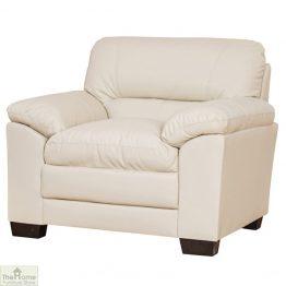 Toledo Leather 1 Seat Armchair