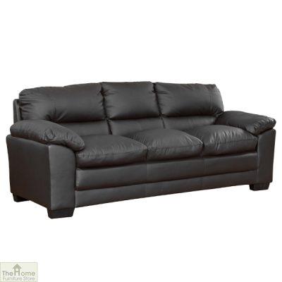Toledo Leather 3 Seat Sofa Bed_4