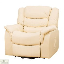 Livorno Leather Reclining Armchair