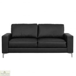 Como Leather 3 Seat Sofa