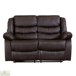 Verona Leather 2 Seat Reclining Sofa_1