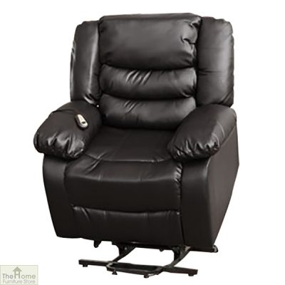 Verona Leather Reclining Armchair_2
