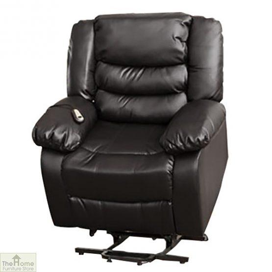Verona Leather Reclining Armchair_2