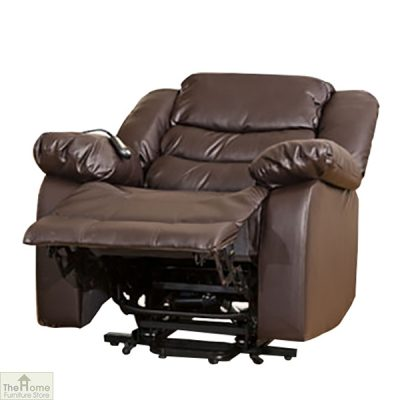 Verona Leather Reclining Armchair_4