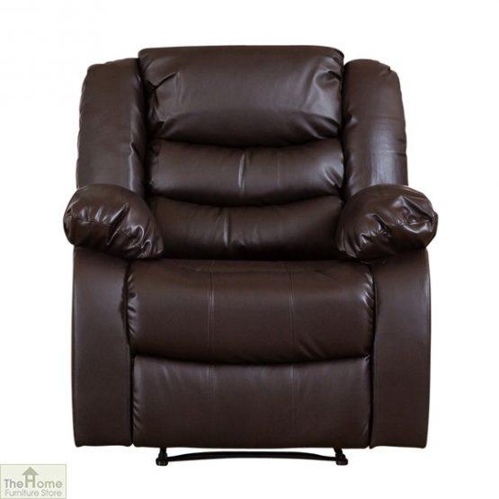 Verona Leather Reclining Armchair_3