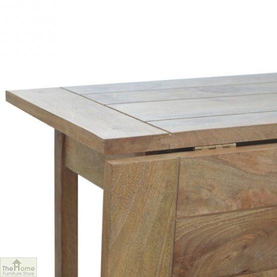 Wooden Breakfast Table Set_9