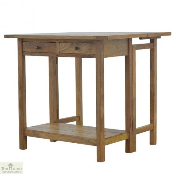 Wooden Breakfast Table Set_5