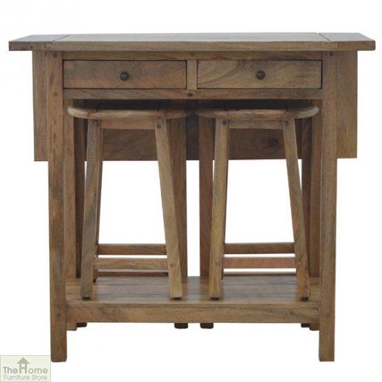 Wooden Breakfast Table Set