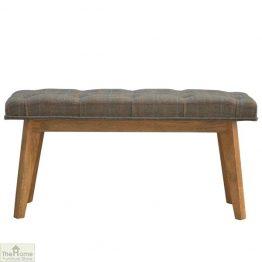 Tweed Wooden Bench