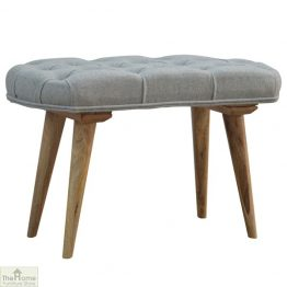 Grey Tweed Petite Bench_1