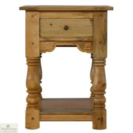 Country 1 Drawer End Table
