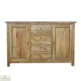 Country 2 Door 4 Drawer Sideboard