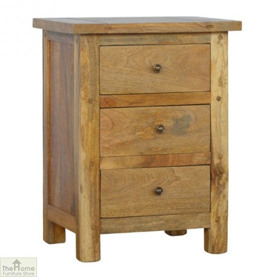 Country 3 Drawer Bedside Table_1