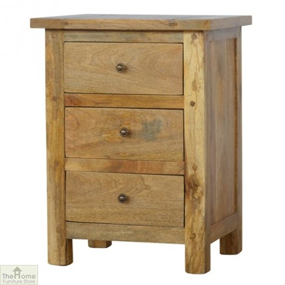 Country 3 Drawer Bedside Table_2
