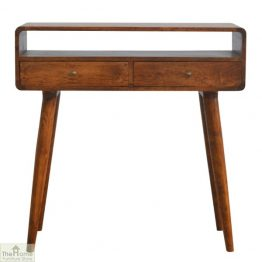 Highgrove Curved 2 Drawer Console Table