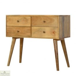4 Drawer Console Table_1