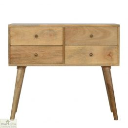4 Drawer Console Table