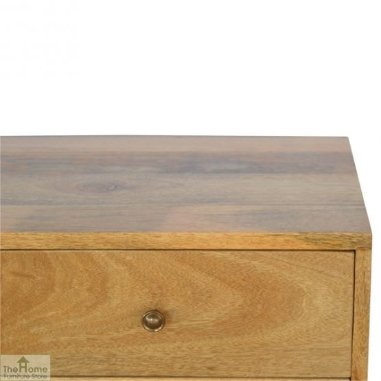 4 Drawer Console Table_6