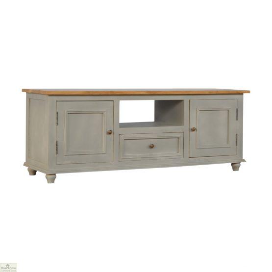 Grey 2 Door 1 Drawer TV Unit_1