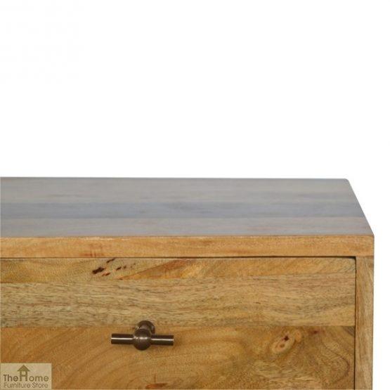 Solid Wood 2 Drawer Bedside Table_6