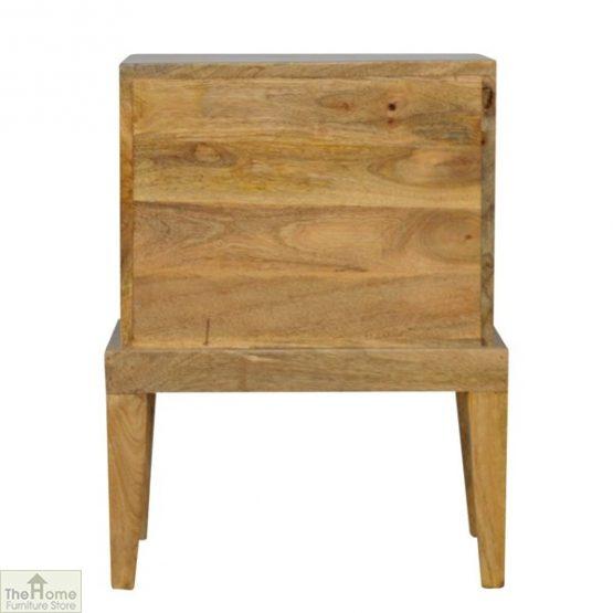Solid Wood 2 Drawer Bedside Table_4