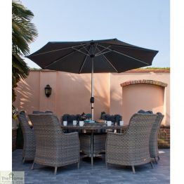Casamoré Corfu Woodash 6 Seater Triangular Dining Set_1
