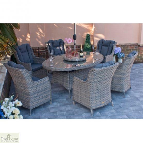 Casamoré Corfu Woodash 6 Seater Oval Dining Set_2