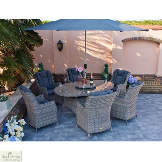 Casamoré Corfu Woodash 6 Seater Oval Dining Set_1
