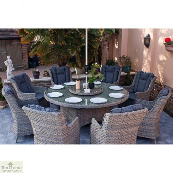 Casamoré Corfu Woodash 8 Seater Round Dining Set_5