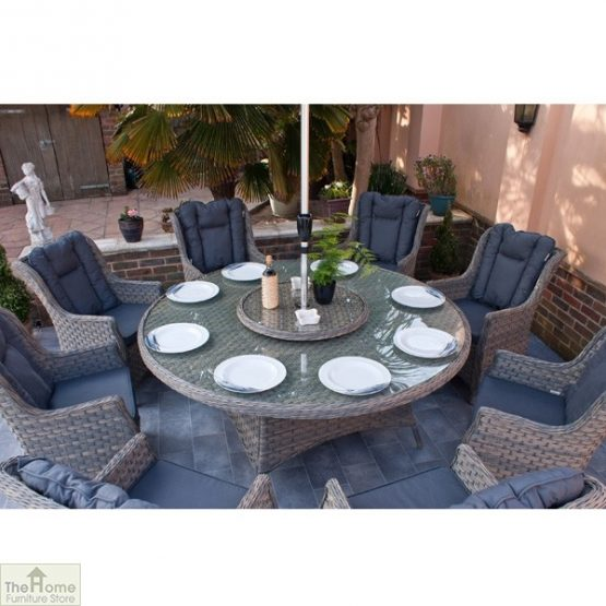 Casamoré Corfu Woodash 8 Seater Round Dining Set_6