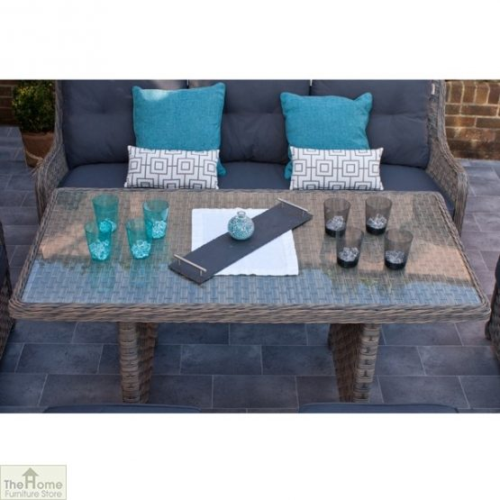 Casamoré Corfu Woodash Rectangular Sofa Dining Set_5